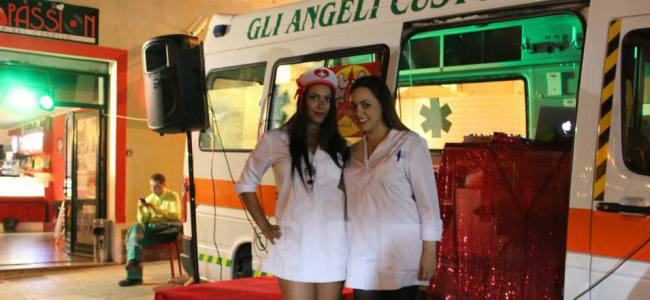 """Algero, gli """"Angeli Custodi"""" aprono la disco-ambulanza"""