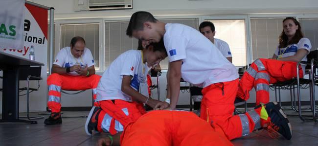 SAMIcontest, foto e tweet dal campo dei giovani soccorritori europei