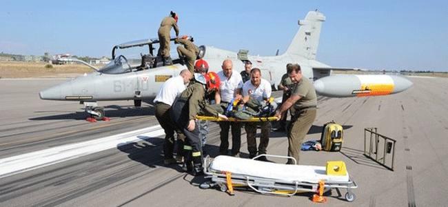 Incidenti di volo, l'Aeronautica Militare Italiana si allena al soccorso