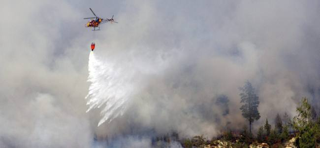 La Protezione Civile italiana in Svezia per domare il grande incendio di Stoccolma