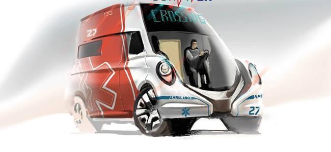 """Bombardier disegna la """"SurvivER"""" un prototipo di ambulanza per il 2030"""