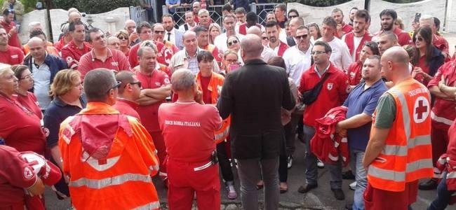 Lazio, continua il caos sul soccorso. La CRI in manifestazione