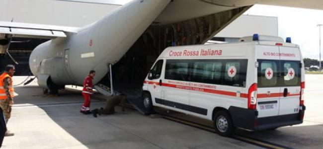 Report: i mezzi anti-ebola della Croce Rossa Italiana