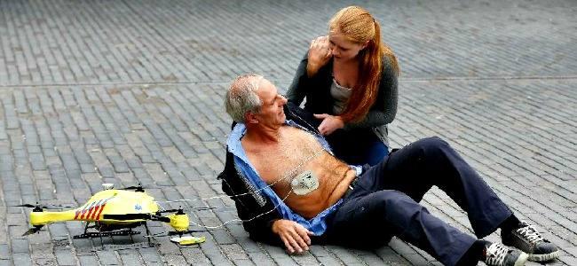 Il drone ambulanza salva-vita è realtà (a 15.000 Euro)