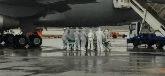 Emergenza Ebola, l'Aeronautica Militare a Malpensa testa le sue strutture