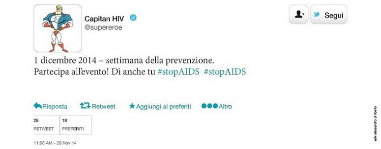 Il 1 dicembre è la Giornata mondiale per la lotta all'HIV/AIDS