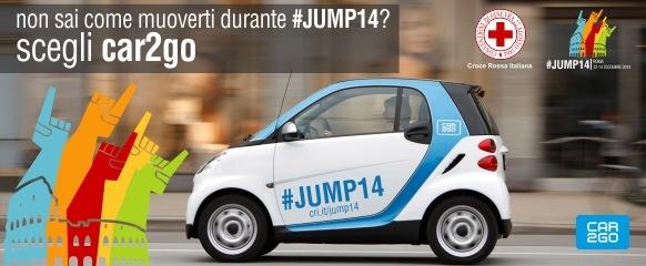 Croce Rossa & Car2go per Jump14