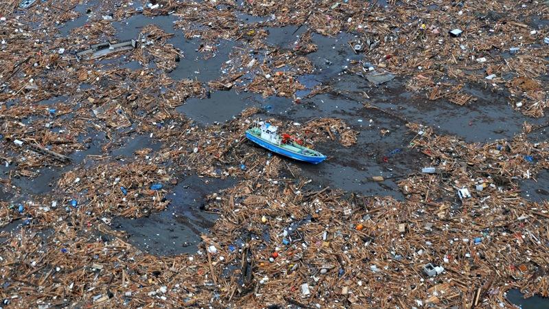 Garbage island, la Protezione Civile presenta il sistema SAURO