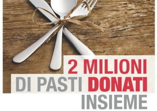 """""""Metti in tavola la solidarietà"""": con CRI e Selex donati 2 milioni di pasti"""