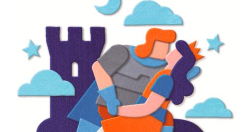 La Favola di Battista, il cavaliere altruista, per educare all'impegno sociale