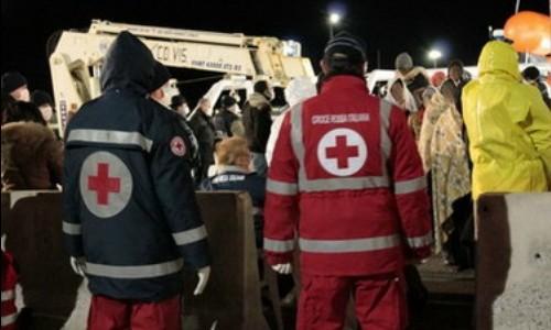 Sbarco di 476 migranti in provincia di Cosenza. La CRI è intervenuta con 50 volontari
