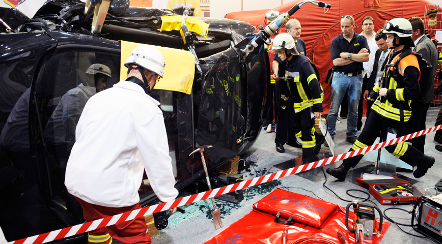 REAS ad INTERSCHUTZ, il sistema dell'Emergenza italiano ha un palcoscenico d'onore