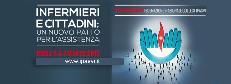 IPASVI, infermieri e cittadini, dal 5 marzo il congresso nazionale
