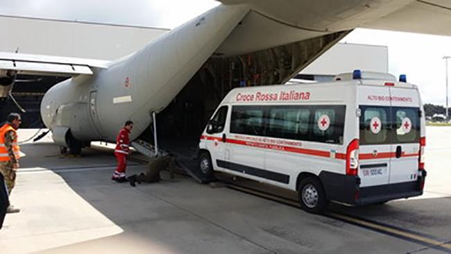 Come funziona il primo mezzo anti ebola della Croce Rossa Italiana