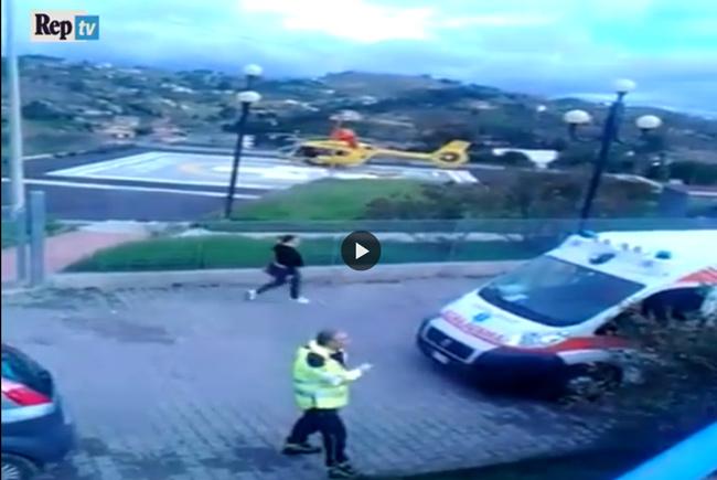 Sicilia, pista dell'elisoccorso chiusa a chiave, l'infartuato rischia di morire