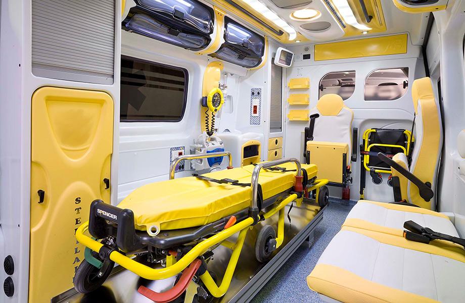 Linee guida per l'igiene di una ambulanza