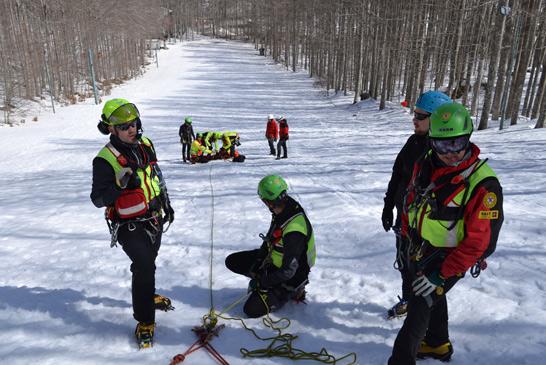 Maxi esercitazione di elisoccorso sul Monte Amiata con 118 Grosseto, Inaer e Soccorso Alpino | Emergency Live 6