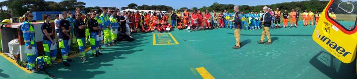 HEMS2015 la fotogallery dei 3 giorni dedicati all'elisoccorso | Emergency Live 16