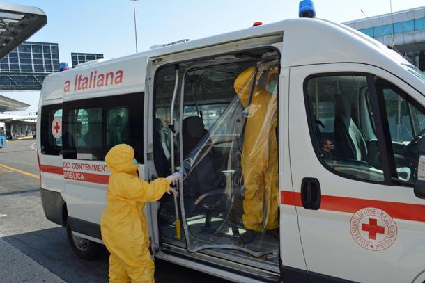 Ebola: qualche informazione sul Reparto Sanità Pubblica della CRI