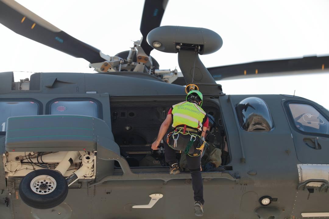 Esercitazione con i velivoli dell'Aeronautica, Trapani