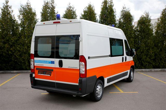 Ambulanza MAF modello Citroen Jumper
