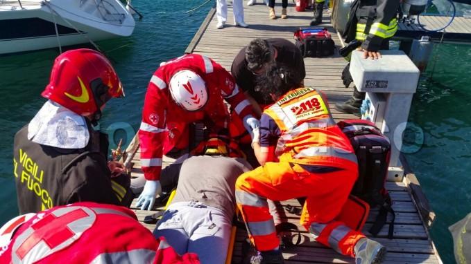TSSA, le dispense della Croce Rossa: Rilevazione dei parametri vitali