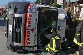 Scontro Ambulanza-Tir