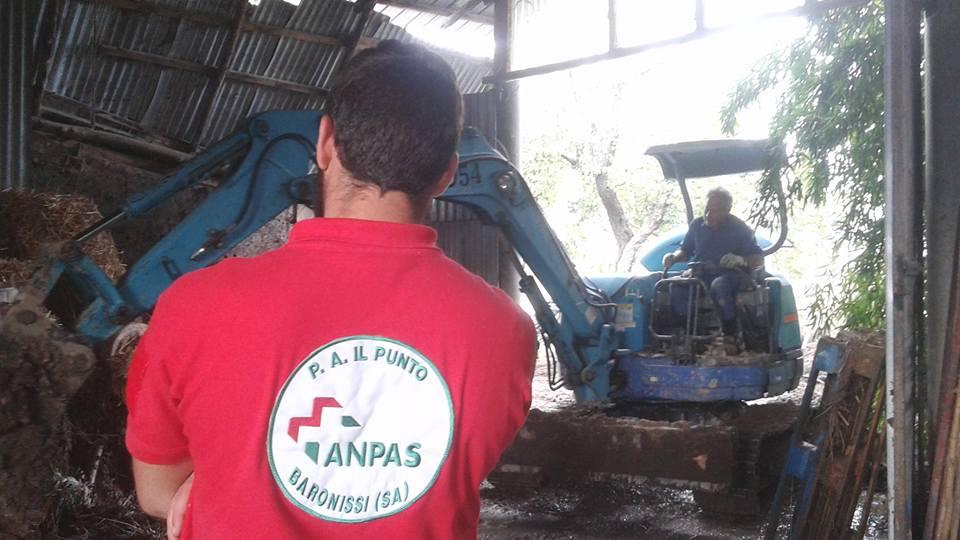 Emergenza Campania, parte la colonna mobile della Protezione Civile ANPAS