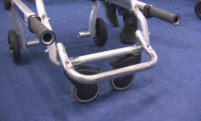 4BELL la nuova sedia portantina Spencer conquista anche l'Italia | Emergency Live 4