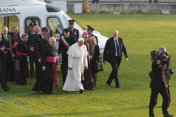 Papa Francesco a Firenze, la diretta social