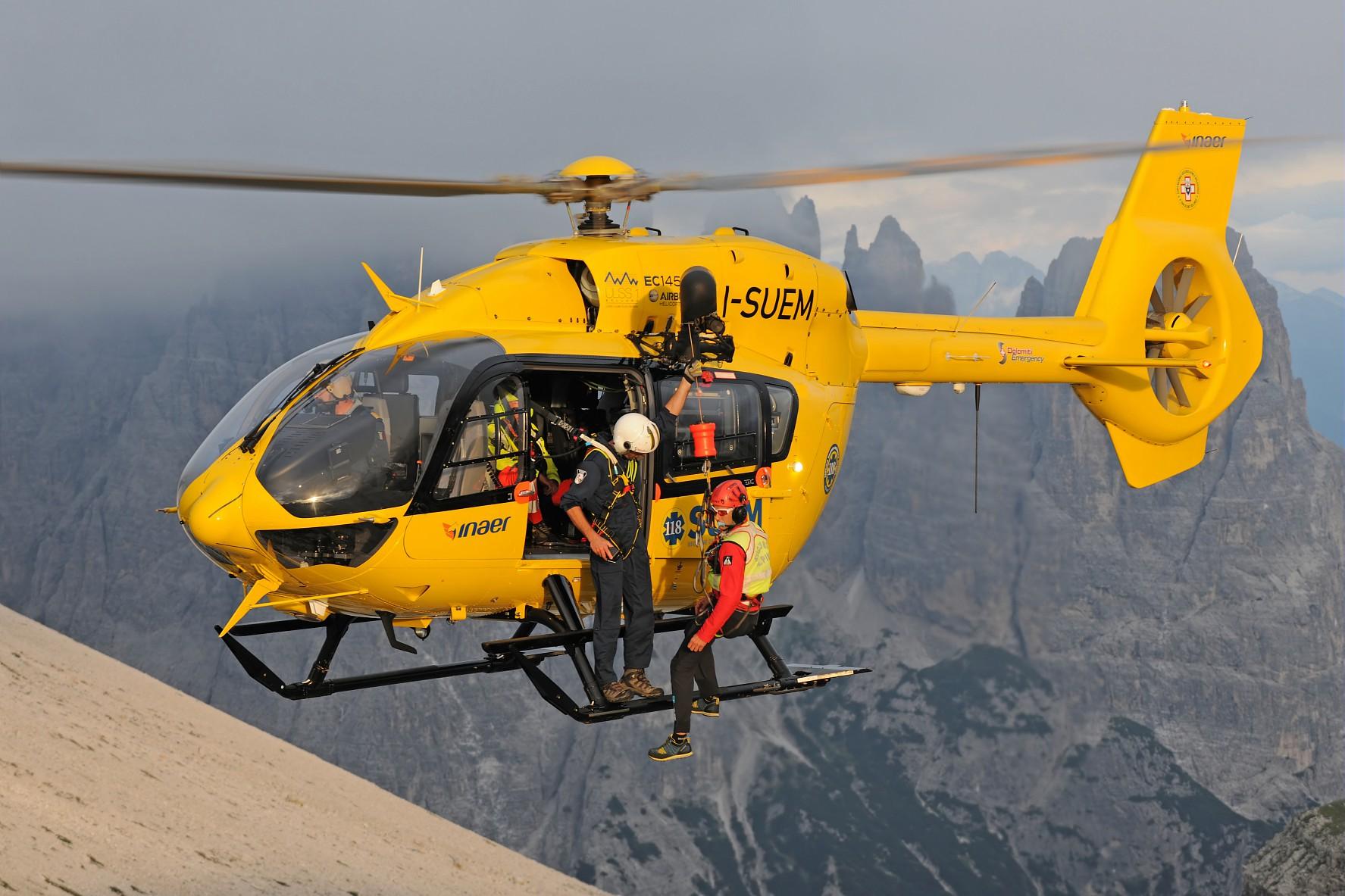 H145, il punto di riferimento dell'elisoccorso ha raggiunto le 10.000 ore di volo | Emergency Live 6