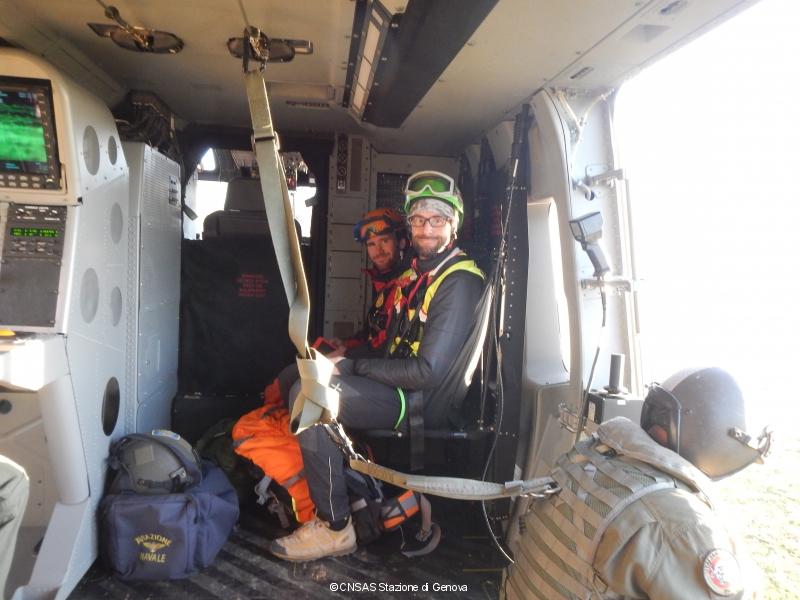 Esercitazione SATER 2015: recupero dispersi con CNSAS, Aeronautica e Marina ad Albenga | Emergency Live 14