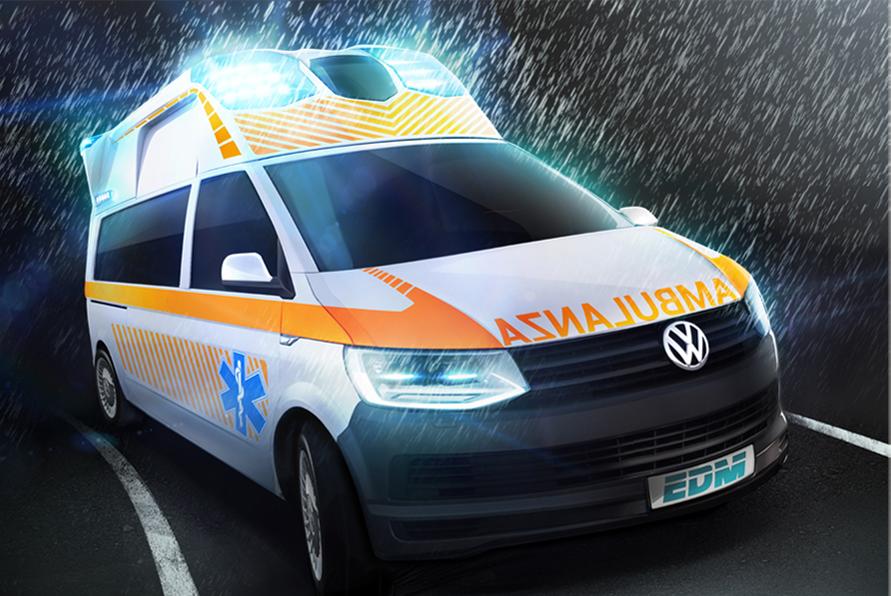 Volkswagen T6, l'ambulanza compatta ha un nuovo punto di riferimento