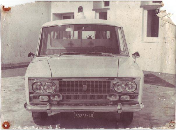 Foto 09: vista anteriore della Fiat 2300: si noti l'inserimento dei fari anteriori della più piccola Fiat 1500 -foto ASCVP