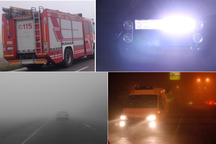 """""""Ma quanta nebbia c'è?"""" Una scala precisa per dirimere i dibattiti fra autisti del soccorso"""