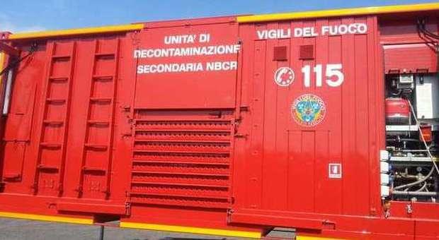 Allerta ambientale per un incendio a Schio (VI)