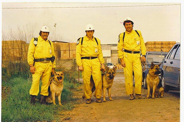 Addestramento cani da soccorso, se ne è andato Paolo Villani, lutto nel mondo cinofilo | Emergency Live 1