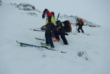 Valcanale, sciatore soccorso dal CNSAS – fotogallery