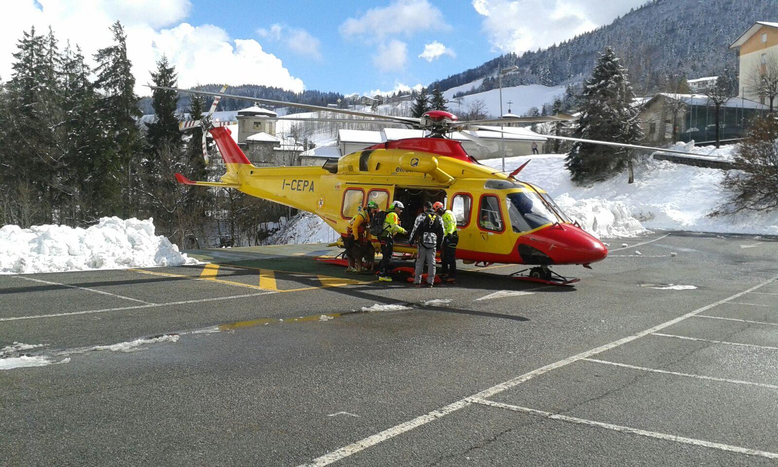 Soccorso Alpino, gli interventi in Lombardia del weekend