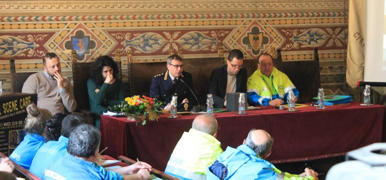 Attenzione alla scena del crimine, successo per il seminario delle Misericordie toscane  a Volterra