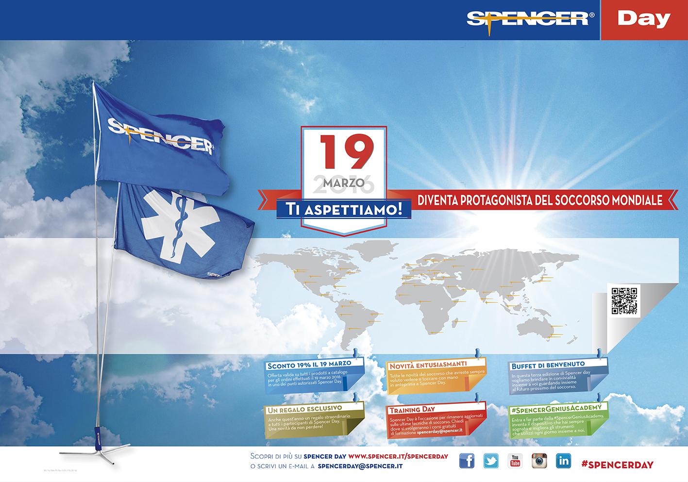 Spencer Day, segui l'evento dedicato al soccorso in diretta, anche con Whatsapp