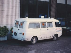 Foto 07: Fiat 238E versione CRI, acquistata però da nuova dalla Misericordia di Fiano Loppeglia (LU) –foto Alberto Di Grazia