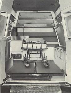 Foto 42:sistemazione con unico lettino in posizione centrale –foto da brochure Grazia