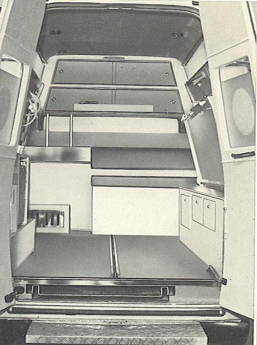 Foto 43: vano sanitario completamente libero per accogliere due carrozzine – foto da depliant Grazia