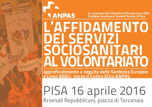 """Falso volontariato in sanità, la posizione di Anpas: """"Il soccorso inizia dalla trasparenza"""""""