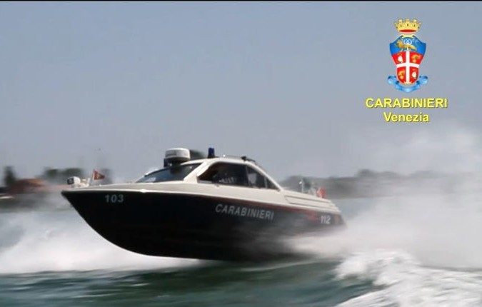 Venezia, come opera la Benemerita in Laguna? A bordo del Nucleo Natanti dei Carabinieri