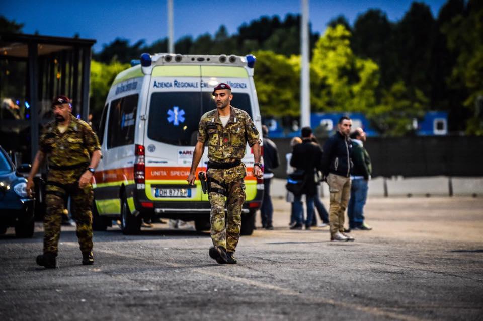 Esercitazione Metropolis, anti terrorismo a Milano davanti allo stadio San Siro: Fotogallery e video | Emergency Live 19
