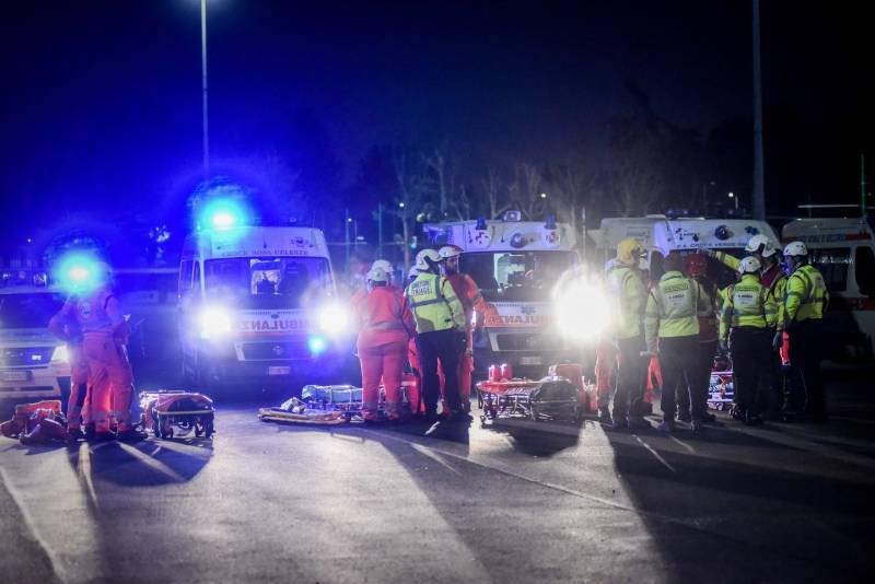 Esercitazione Metropolis, anti terrorismo a Milano davanti allo stadio San Siro: Fotogallery e video | Emergency Live 3