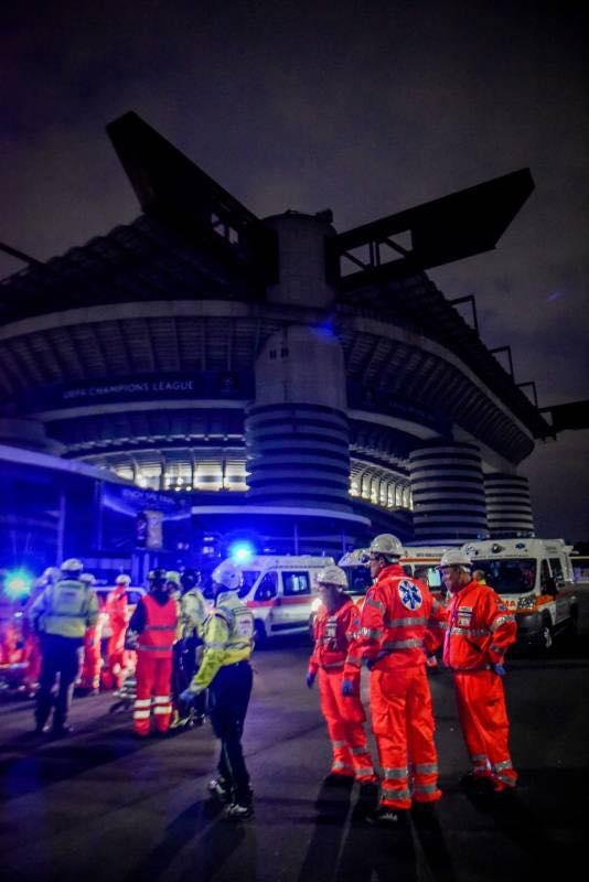 Esercitazione Metropolis, anti terrorismo a Milano davanti allo stadio San Siro: Fotogallery e video | Emergency Live 30
