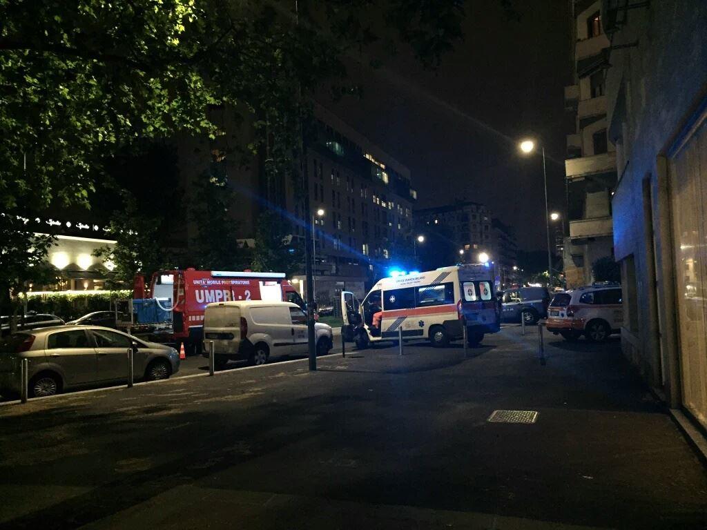 Esercitazione Metropolis, anti terrorismo a Milano davanti allo stadio San Siro: Fotogallery e video | Emergency Live 25